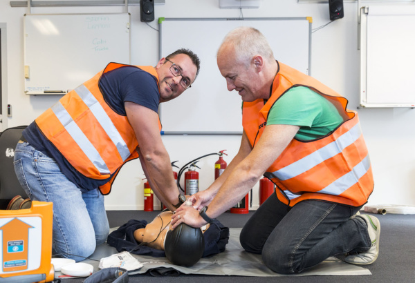 Sign up for safety training and courses
