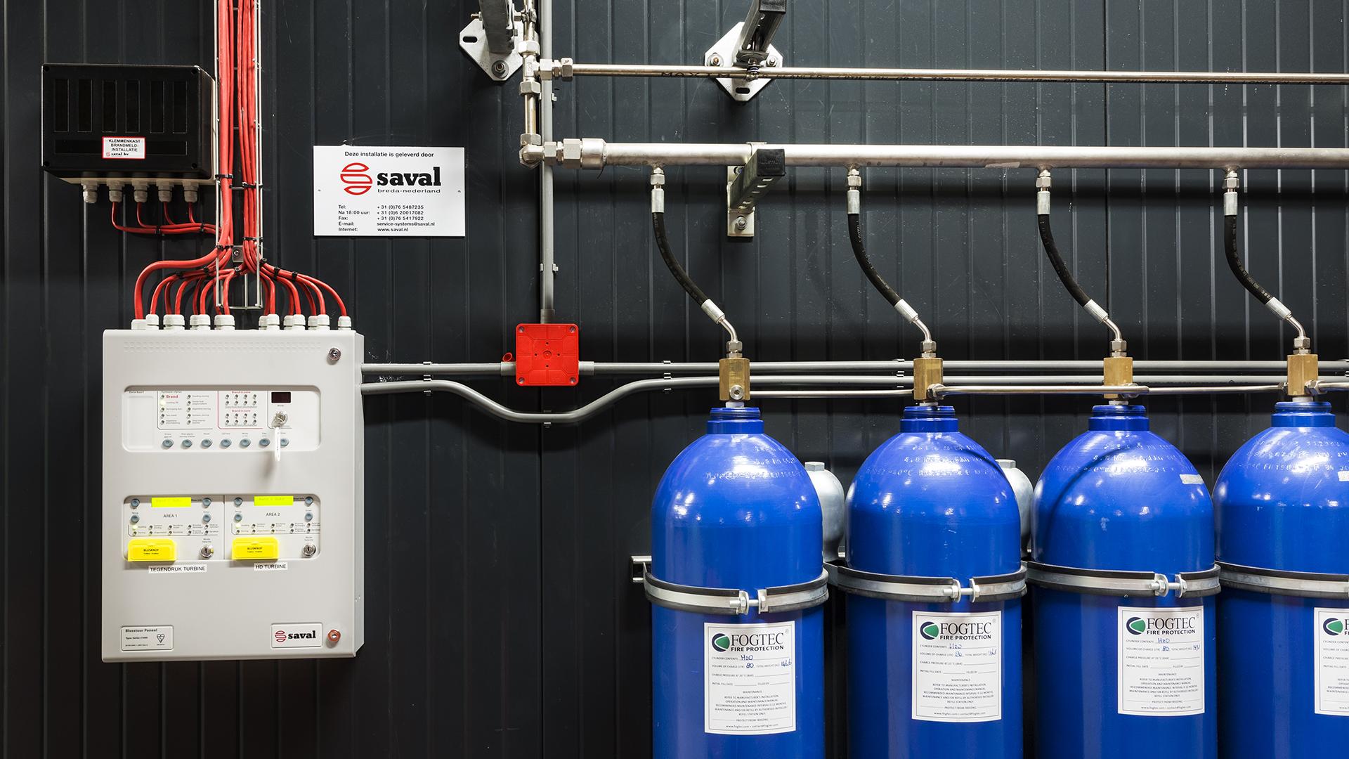 Onderhoud watermistsysteem