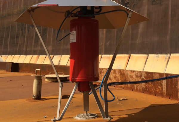 CFI Rim Seal systems protect existing storage tanks in Iraq 3