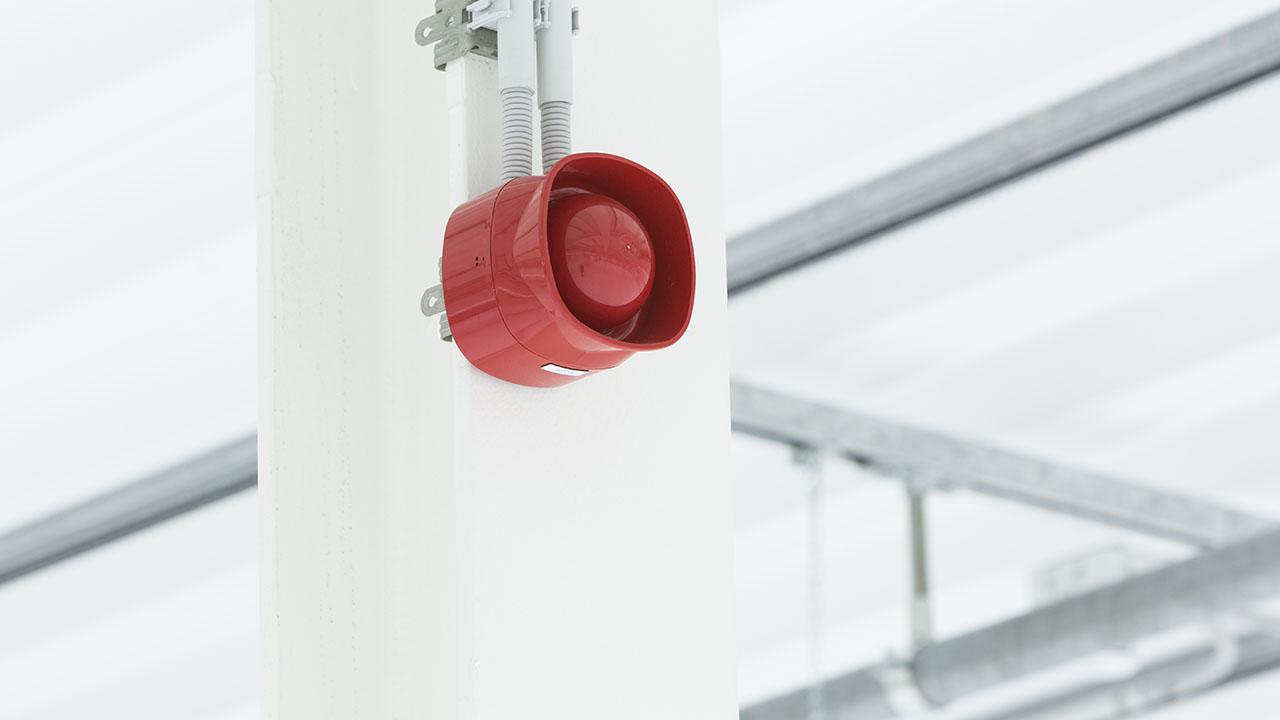 Een state-of-the-art datacenter met hoog gevoelige branddetectie en brandblusvoorzieningen 8