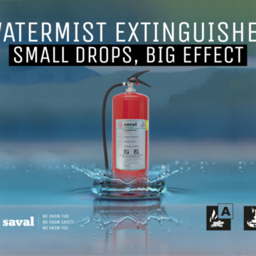 Introduction watermist extinguisher