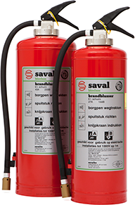BP HR foam extinguisher