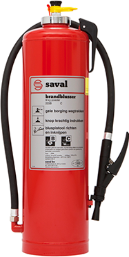 PX powder extinguisher SST