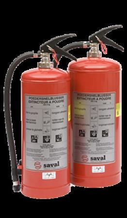 GC powder extinguisher