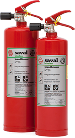 Compact BC foam extinguisher