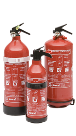PG Benor-V powder extinguisher