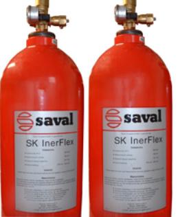 SK InerFlex® extinguishing gas system