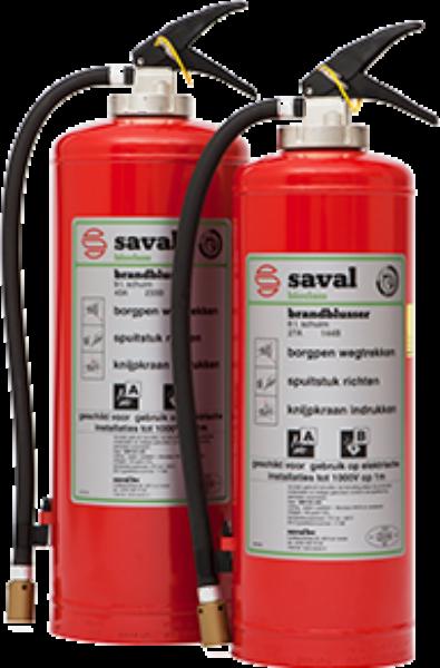 BP HR+ foam extinguisher