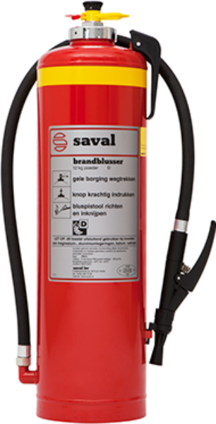 PM powder extinguisher