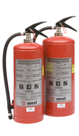 GC powder extinguisher