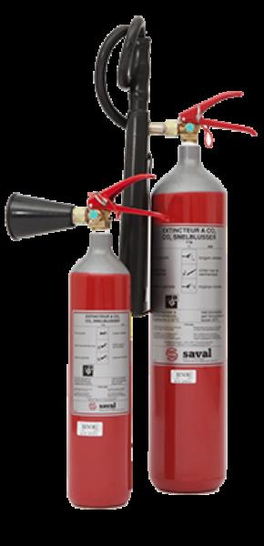 CO2 extinguisher steel