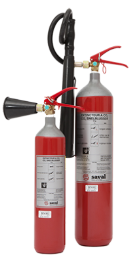 CO2 extinguisher steel