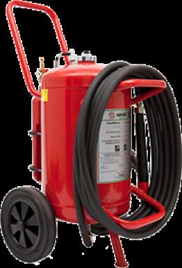 Wheeled AFFF-A foam extinguisher