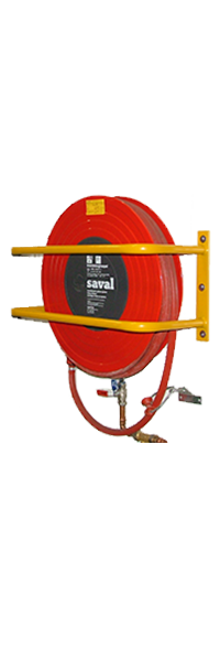 Fire hose reel guard