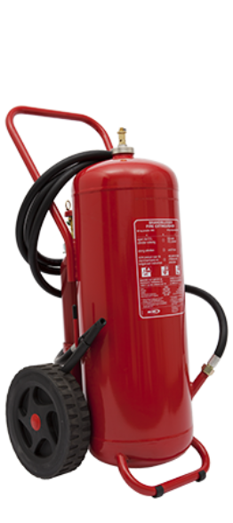 Wheeled FP foam extinguisher