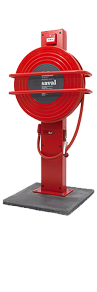NOV-A fire hose reel console