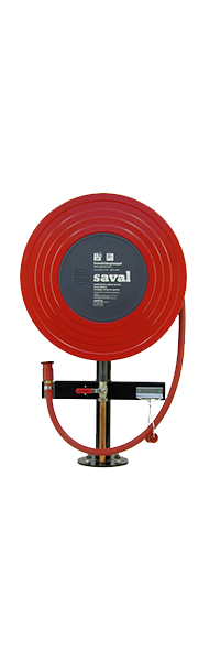 Type P fire hose reel console