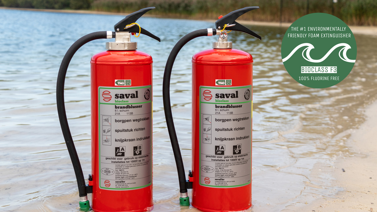 Bioclass F3 fluorine-free foam extinguisher