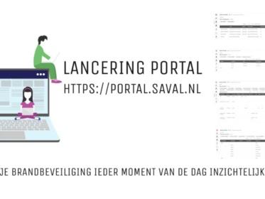 Saval Portal maakt je brandbeveiliging online inzichtelijk 24/7