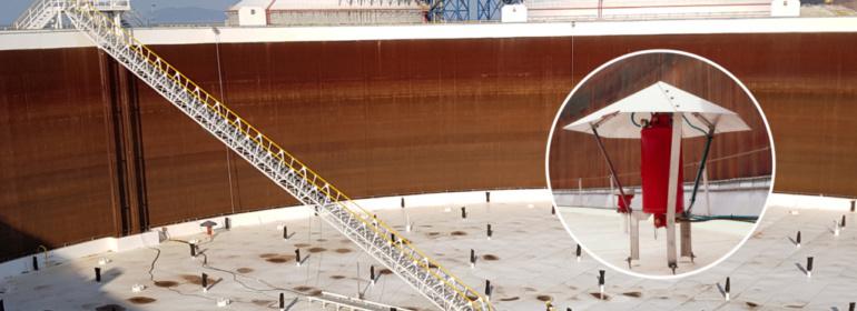 Snel te installeren brandbeveiligingssysteem bij een toenemende vraag naar olieopslag